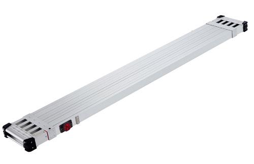 長谷川(Hasegawa) スノコ式伸縮足場板 スライドステージ SSF1.0-270 両面使用タイプ 2.7M