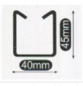 小山刃物(モクバ) EXレースウェイカッター D2用替刃 D-100-1 D2ダクトチャンネル DP2レースウェイ用可動刃(バネ、バネ受け付)