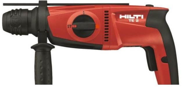 HILTI ヒルティ 100V ハンマードリル TE2 コンポ SDSプラス ケース+ビット3本付 TE-2