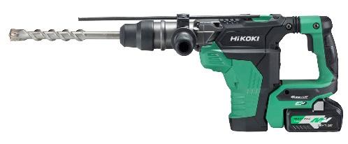 HIKOKI(日立工機) コードレスハンマドリル DH36DMA(2WP) 36V (バッテリ2個・充電器・ケース付) ドリルビット別売