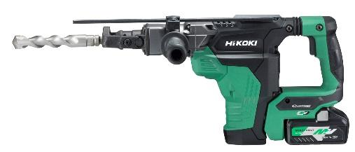 HIKOKI(日立工機) コードレスハンマドリル DH36DSA(2WP) 36V (バッテリ2個・充電器・ケース付) ドリルビット別売