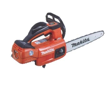 マキタ(makita) 充電式チェンソー MUC254DZNR 赤 ガイドバー250mm 18V 本体のみ(バッテリ・充電器別売)