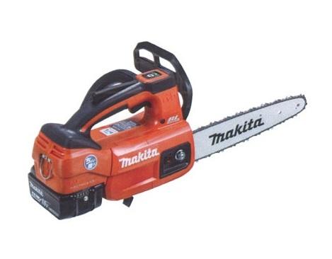 マキタ(makita) 充電式チェンソー MUC204DGNR 赤 ガイドバー200mm 18V 6.0Ah(バッテリ2本・充電器付)