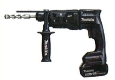 マキタ(makita) 充電式ハンマドリル HR182DRGXB 黒 18mm 18V 6.0Ah(バッテリ2本・充電器・ケース付) 集じんシステム別売