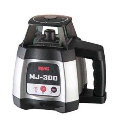 マイゾックス(myzox) 自動整準レーザーレベル MJ-300S 三脚付 デジタル受光器D-RE1個・クランプD-RC1個付 IP54防塵・防滴機能