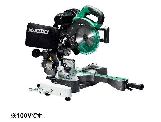 HiKOKI(ハイコーキ) コードレス卓上スライド丸のこ C3607DRA(NN) 36V 本体のみ(蓄電池・充電器別売) レーザーマーカ搭載 マルチボルト 旧日立工機