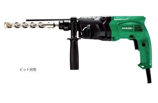 HiKOKI(ハイコーキ) 24mmロータリーハンマドリル DH24PG2 SDSプラスシャンク 回転/回転+振動 モード切替 旧日立工機