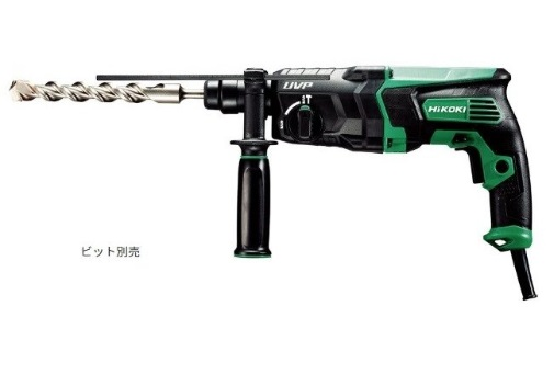 HiKOKI(ハイコーキ) 28mmロータリーハンマドリル DH28PBY2 SDSプラスシャンク 回転/回転+振動 モード切替 旧日立工機