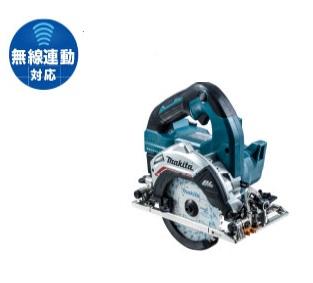 マキタ 14.4V HS473DRG 充電式マルノコ 125mm 無線連動対応 セット品(バッテリ・充電器・鮫肌チップソー・ケース付) makita