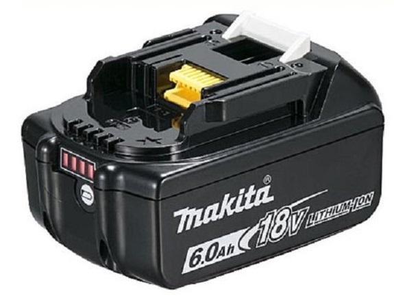 マキタ 18V 6.0Ah BL1860B バッテリ 6Ah 電池 残容量表示+自己故障診断付