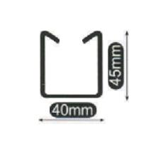 小山刃物(モクバ) EXレースウェイカッターD2用替刃 D-100-2 D2ダクトチャンネル DP2レースウェイ用固定刃