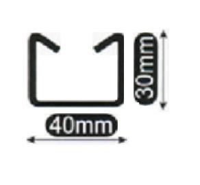 小山刃物(モクバ) EXレースウェイカッタ用替刃 D-103-2 D1ダクトチェンネル DP1レースウェイ用 固定刃D1