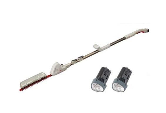 送料無料(但し沖縄、離島除く) ムサシ 充電式伸縮スリムバリカン PL-3001-2B 3M 電池2個仕様