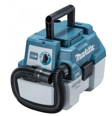マキタ(makita) 18V 充電式集じん機 VC750DRG (バッテリBL1860B・充電器DC18RF付) 乾湿両用