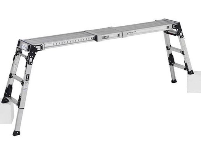 オリジナル アルインコ VSX-1709R 伸縮天板 伸縮脚付足場台 作業台 NEW ARRIVAL ALINCO 天板寸法:236mm×1183mm~1753mm 洗車台 脚立