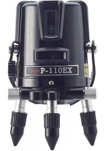 マイゾックス レーザー墨出器 P-110EX(本体セット・エレベーター三脚付)MYZOX