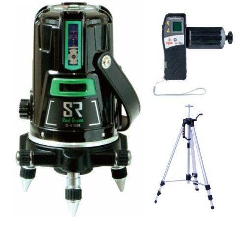 マイゾックス レーザー墨出器 G-410SR(本体セット・受光器・エレベーター三脚付)グリーン MYZOX