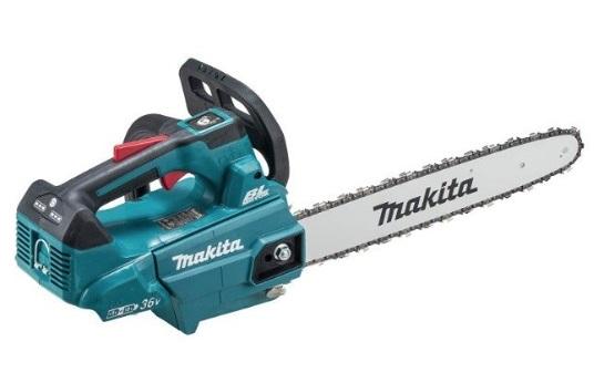 マキタ MUC356DZF 本体のみ 充電式チェンソー 青 (バッテリ・充電器別売) ガイドバー350mm 25AP-76E 18V+18V=36V makita