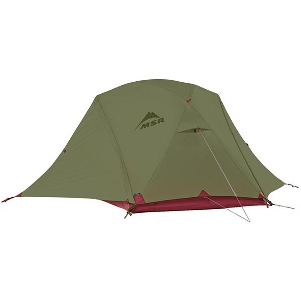 【2020年モデル】MSR エリクサー4 / Elixir4 [4人用] テント ヨーロッパカラー グリーン /フットプリント付き