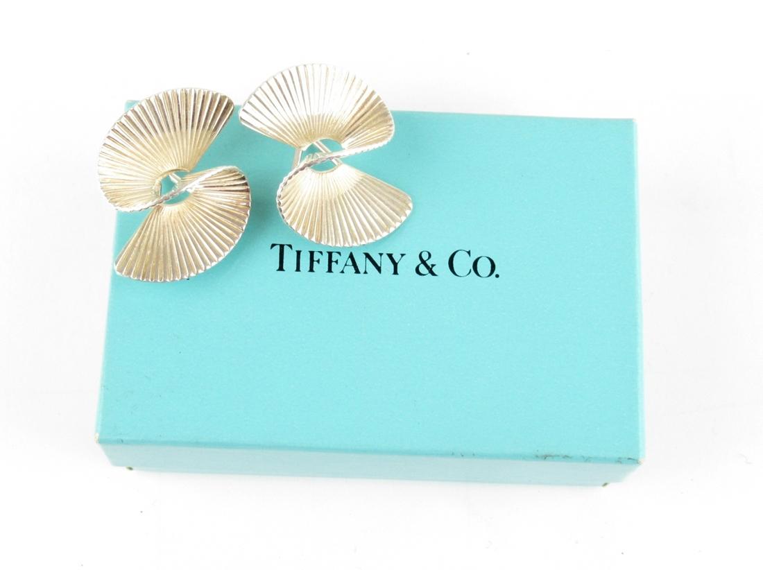 【中古】正規品 Tiffany&Co. T&Co ティファニー クリップオンイヤリング クリップ式 STERLING スターリングシルバー 外箱付き【送料無料】【店頭受取対応商品】