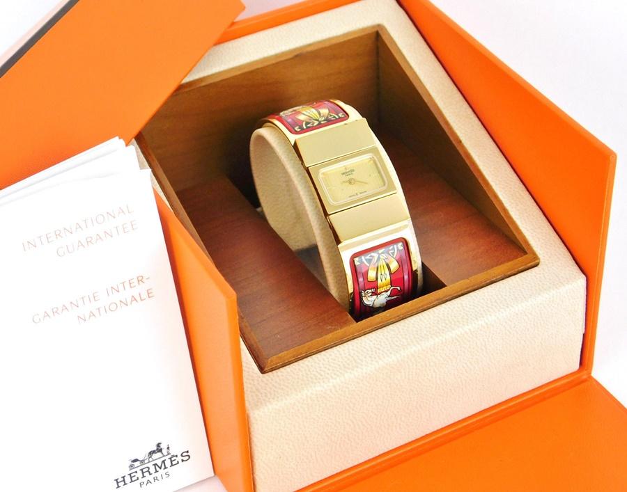 brand new 056f1 d25a0 中古】 正規品【中古】 HERMES PARIS エルメス エルメス 腕時計 ...