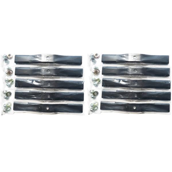 スパイダーモアー用 替刃 バーナイフ 黒色10セット(40枚入) オーレック / 共立 / アグリップ SP50・SP550・SP650・SP850・SP851用