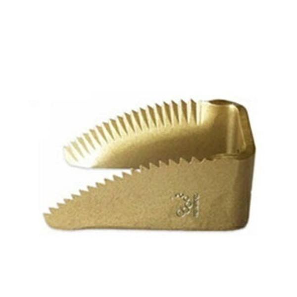 三菱 コンバイン用 ワラ切刃 スーパードラムカッター 10個セット ナシモト工業製 脱こく刃 品番11109
