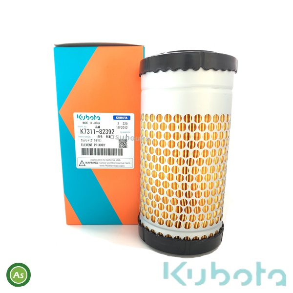 KUBOTA 純正品 純正部品 クボタ純正 K7311-8239-2 新品■送料無料■ コンバイン用 エアクリーナエレメント 高品質
