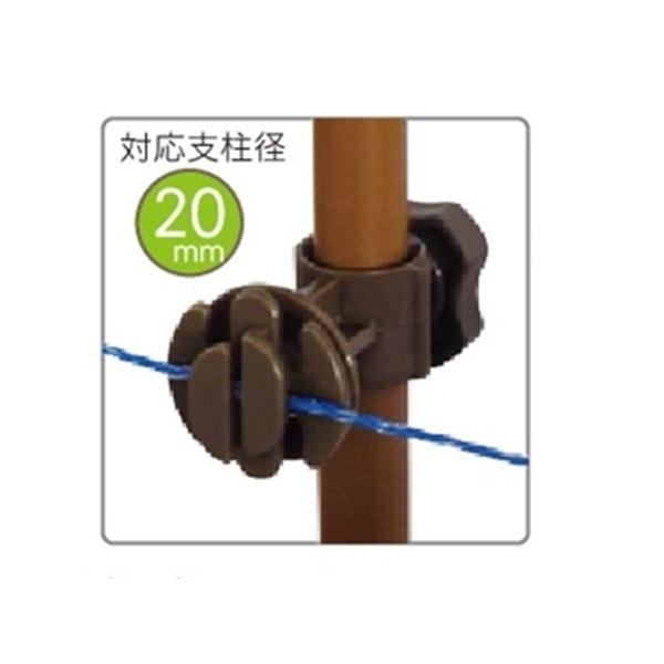 タイガー 樹脂ガイシ G20 (20mm径支柱専用ガイシ) 1ケース100個入