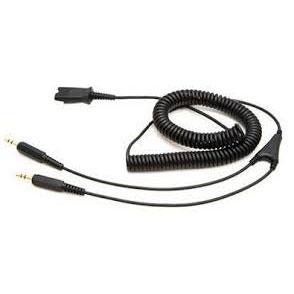 USBデバイスの接続トラブルがご心配の方におすすめ 買い物 即納 コールセンター 業務用ヘッドセット PC接続ケーブル Plantronics 28959-01 PL35PC Genetive一部