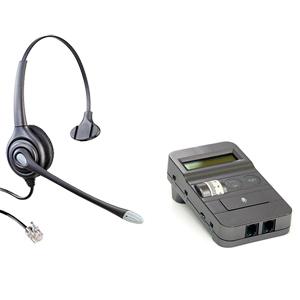 コールセンター用ヘッドセット、業務用電話ヘッドセット、電話ヘッドセット分配器、電話ヘッドセット 切替器、デジタルアンプセット、電話ヘッドセットアンプセット(HY104N-AP-PACK)、GT575T