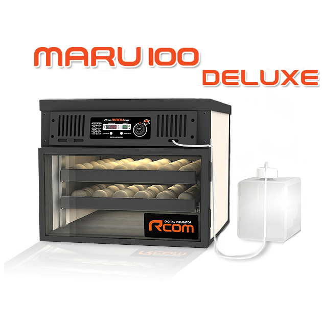 MARU100-DELUXE 業務用全自動孵卵器(ふ卵器・ふらん器)