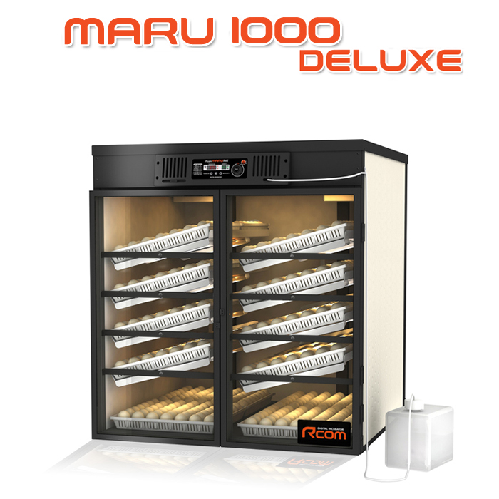 MARU1000-DELUXE 業務用全自動孵卵器(ふ卵器・ふらん器)