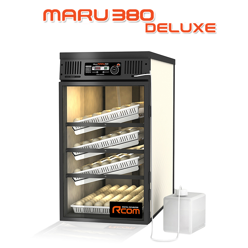 MARU380-DELUXE 業務用全自動孵卵器(ふ卵器・ふらん器)