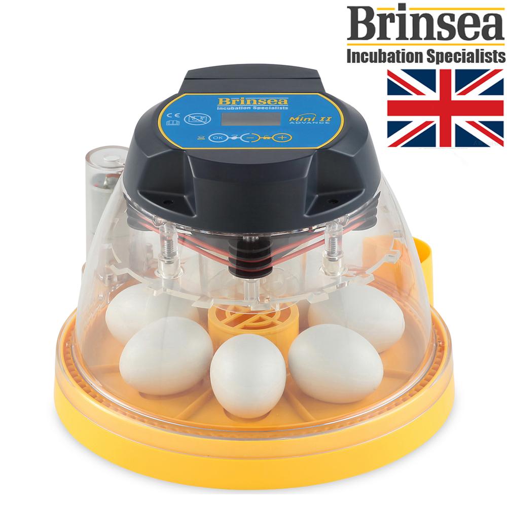 ミニアドバンス2 小型自動孵卵器 鶏卵7個用卵枠付(ふ卵器・ふ卵機)