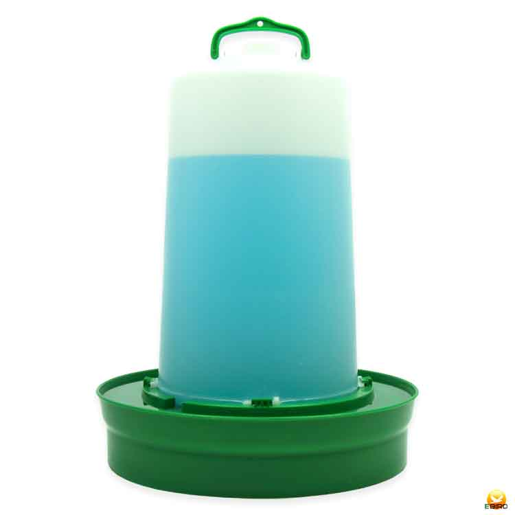 開店祝い とっても便利な給水口つき 給水口付 自動給水器 高受皿 超定番 ニワトリ キジ類用 12L