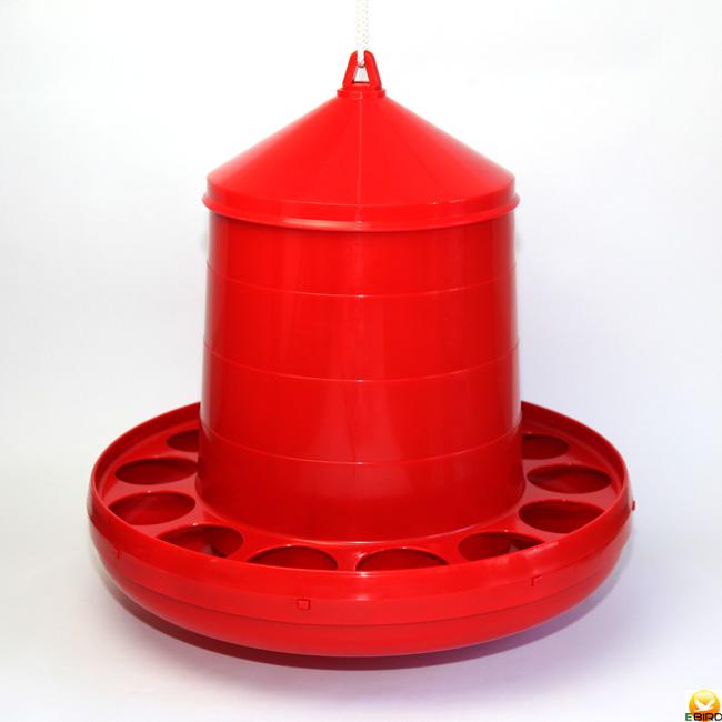 大容量ニワトリ キジ類用に最適 えさ入れ 自動給餌器 容量8Kg 休日 価格 にわとり ちゃぼ うこっけい