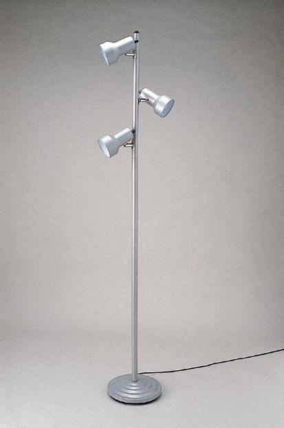 東京メタル工業 フロアスタンド LED電球 3灯付 CL-3501SLEZ(シルバー)