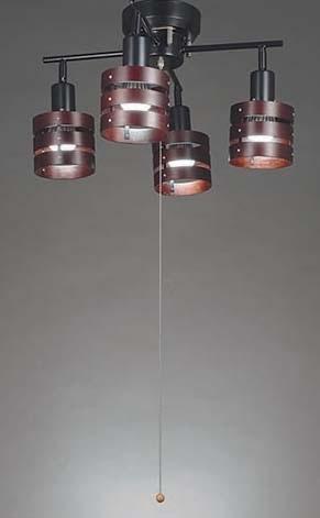 東京メタル工業 シーリングライト HC-P020BKNDZ (黒・電球別売)