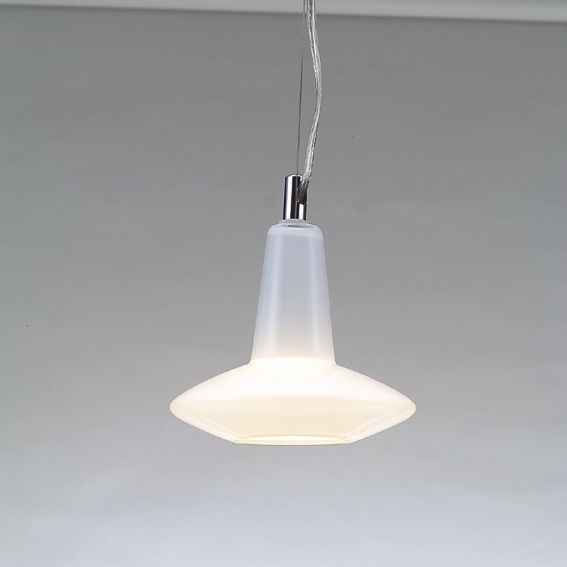 東京メタル工業 ガラスペンダント MD3162-1W(白)