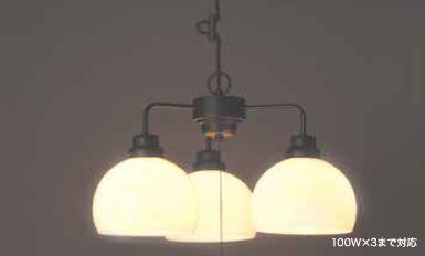 GLF ペンダント照明器具 鉄鉢 60Wホワイトシリカ球付 GLF-3257