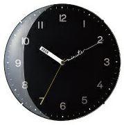 インターフォルム CLOCK 壁掛け時計 Parole パロール CL-3029BK
