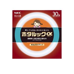 NEC 1ケース20本入り ホタルックα 丸形・スタータ形 30形 3波長リラックス色FCL30ELR/28-SHG-A20P