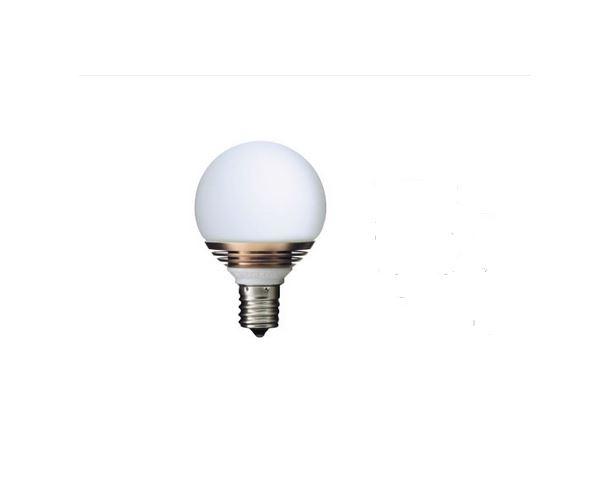 オンリーワン LED電球 影美人 ボール球50タイプ 25W相当 広配光型 LDB23W/6P 6個セット