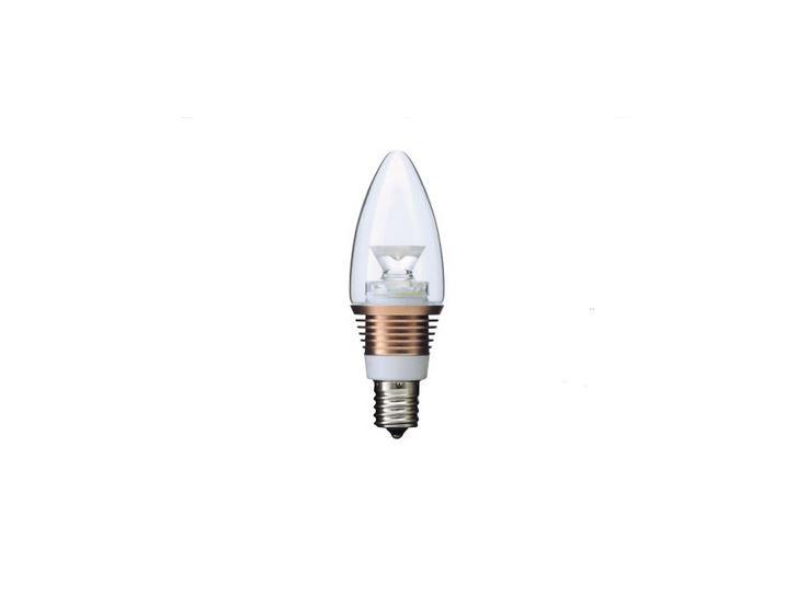 オンリーワン LED電球 影美人 シャンデリア球タイプ 25W相当 広配光型 LDB24/6P 6個セット