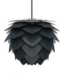 ウメイ アルヴィア 3灯ペンダント アンスラサイト コード・ブラック LEDペンダント照明器具 02129-BK-3