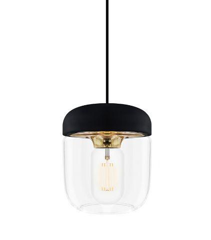 ウメイ エイコーン 1灯ペンダント ブラス コード/シリコン・ブラック ペンダント照明器具 02082