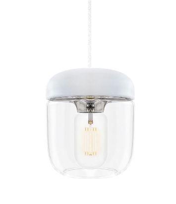 ウメイ エイコーン 1灯ペンダント スチール コード/シリコン・ホワイト ペンダント照明器具 02104