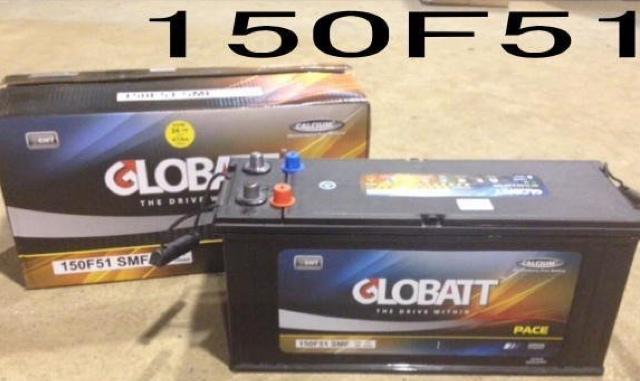 カーバッテリー グロバット 日本新発売 150F51 2年保障 新品