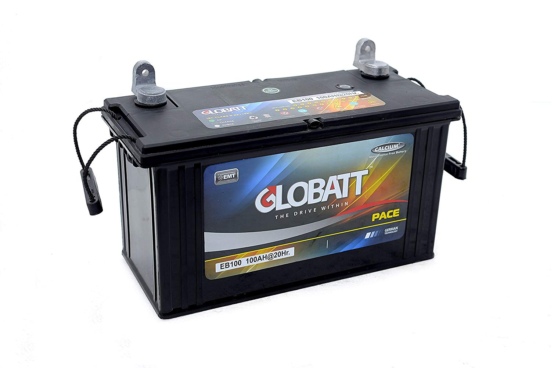 グロバット ディープ オーバーのアイテム取扱☆ サイクル バッテリー セール 12V 繰り返し使えるバッテリー 新品 海外輸入 EB100 蓄電池